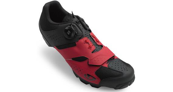 Giro Cylinder Shoes Men dark red/black